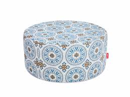 upholstered fabric pouf pfffh by fatboy
