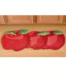 Kitchen Rugs Apple Design