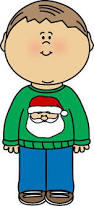 Image result for animated art clip of christmas jumper