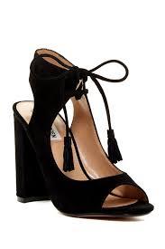 image of steve madden charlea block heel sandal