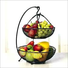 fruit basket kitchen full size of tier stand from intended for countertop tiered kitchen baskets post counter fruit countertop basket tiered