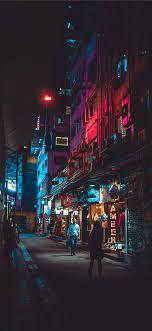 Night in Hong Kong iPhone X Wallpapers ...