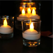 Cheap Floating Tea Light Candles Us 2 96 1 Pack Battery Operated Waterproof Flameless Floating Tea Lights Flickering Led Tea Lights Candles For Wedding Party Pool Spa In Candles
