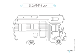 Coloriage De Camping Car A Imprimer Gratuit Coloriage De Camping Carll