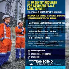 Cable Installation Job Urgently Required For U A E Long Term Electrical