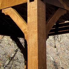 gazebo pavilion kits western timber frame deck