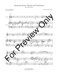 My site, and other sites too. Amazing Grace For Violin And Piano Violin S J W Pepper Sheet Music