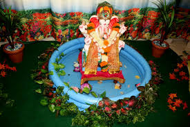 peacock decoration ideas for ganpati decorating of party