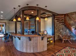 cozy rustic kitchen lighting ideas for rustic kitchen bar