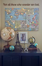 diy wall art make a custom corkboard world map in diy panel lights new hazel