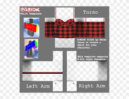 How To Make Roblox Clothes Just Go To Https Roblox Shirt Template Girl Hd Png