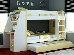 bunk bed with desk stylish white and trundle shortlist underneath plans bunk bed with desk pottery barn loft