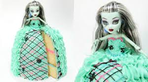 frankie stein monster high doll cake