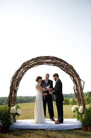 where can i find a wedding arch made out of twisted twigs branches twine