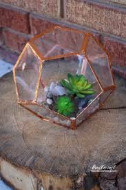 geometric succulent terrarium diy can you tell how i made this i bet you can t guess the best part is it is