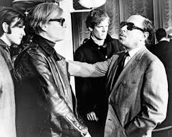 tennessee williams american playwright com andy warhol second from left and tennessee williams far right 1967