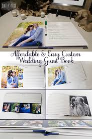 Affordable And Easy Custom Wedding Guest Book Diy The Daily Digi