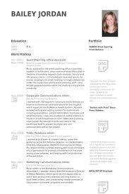 Event Planning Resume Samples Visualcv Resume Samples Database