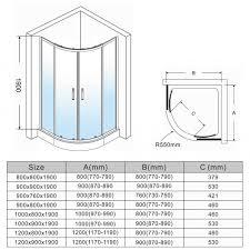 shower enclosures sizes. Simple Sizes ELEGANT NEW Quadrant Shower Enclosure Door Stone TrayWaste Cubicle 8mm  Easy Clean Glass With Enclosures Sizes Elegant Showers