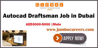 Autocad Draftsman Autocad Draftsman Jobs In Dubai Free Visa And Salary Aed 3000 5000
