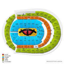 Bridgestone Arena Seating Chart Suites Bridgestone Arena