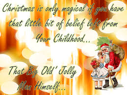 christmas is only magical quote