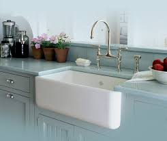 rohl single bowl fireclay a kitchen sink traditional kitchen