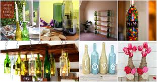 Wine Bottles Decoration Ideas 100 Epic Empty Wine Bottle Projects Don't Throw them Out 20