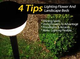 amazing garden lighting flower. 4 tips on lighting flower and landscape beds amazing garden