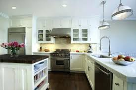 black and white subway tile backsplash recent kitchens white kitchen  cabinets white subway tiles recent kitchens