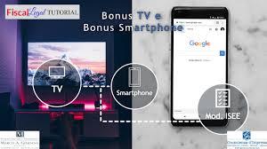Bonus TV E Bonus Smartphone 2021 |