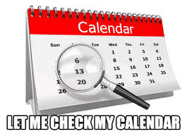 Calendar Gifs Tenor