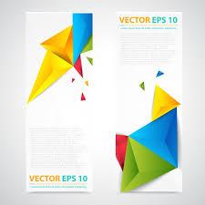 Flyer Header Vector Design Of Banner Flyer Or Header With White