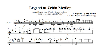 legend of zelda piano sheet music zelda medley violin sheet music taylordavisviolin