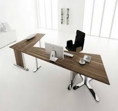 design modular office tables. Modular Home Office Desk. Modern Simple Natural Brown Oak Wood Desk With Chrome Metal Design Tables C