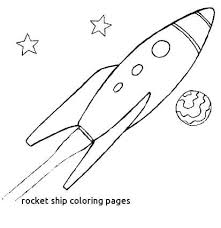Space Ship Coloring Page Spaceship Pictures For Kids Alien Spaceship