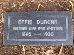 Effie Duncan (1885-1930) - Find A Grave Memorial