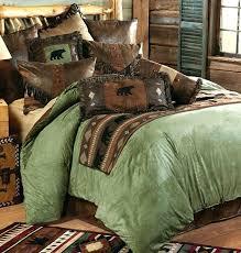 bear comforter bear comforter set image of rustic cabin bedding vintage black woodland chicago bears comforter twin