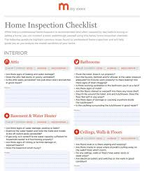 Pest Inspection Home Pest Inspection Checklist