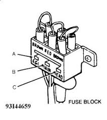 1991 ford festiva fusible links electrical problem 1991 ford 2carpros com forum automotive pictures 61395 graphic 115