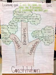 Social Science Chart Topics Branches Of Government Anchor Chart And Ideas For Teaching