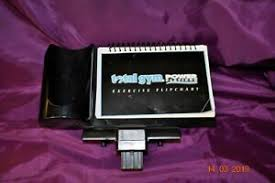 Details About Total Gym Power Platinum Exercise Flip Chart Holder Stand Bottle Holder