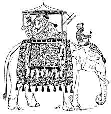 Elefante Dellindia Da Stampare E Colorare Difficile Disegni Da