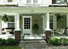 Stupendous Front Porch Decorating Ideas Our Vintage Home Love Spring Summer  Porch Ideas Wall Decorating 89