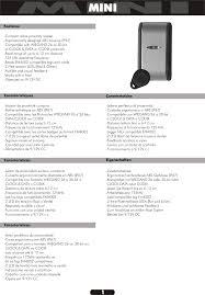 Formato Au 12 Mini A4 Jan08 04 Manual