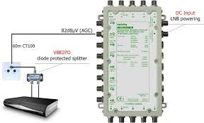 scr583 satellite channel router 5 wire cascade 8 user ports scr wiring diagram
