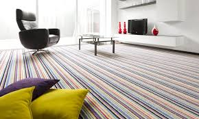 They're unique due to their graceful attractiveness. So, there are many  approaches in which you can make a striped carpet look astonishing in your  room.