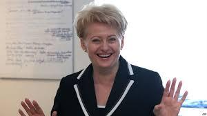 Президент Литвы с русским отчеством 53 летняя Даля Грибаускайте не боится кризиса