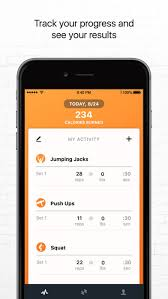 screenshot 5 for 7 minute workout app by track my fitness