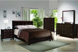 Dark Wood Queen Bedroom Set On Pertaining To 1 Bed Sets Excellent Idea 10